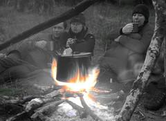 Camping near Otaki Forks