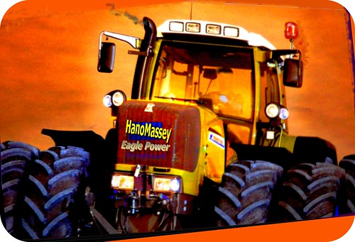 HanoMassey ¦ tractor 8Vario engine ¦ fantasy of Eaglepower