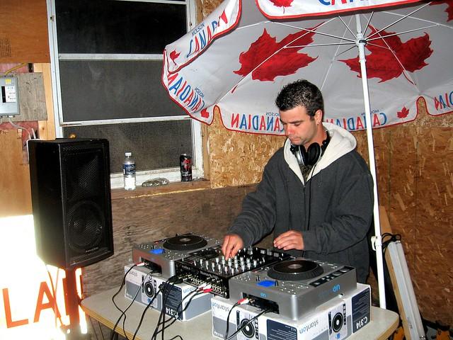 DJ at the Wheels