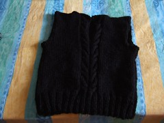 boogey (silkystitcher) Tags: knit vest boogey knitty