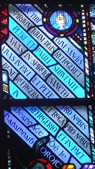 Latin (Niall McAuley) Tags: detail church glass souls saint paul king designer harry pauls stained holy peter richard studios clarke athlone purgatory mortuary