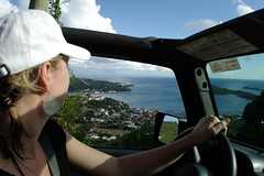 Charlotte Amalie From Above (cwgoodroe) Tags: blue summer sun hot beach water st island bay boat cool sand surf ship thomas vessel surfboard sail stthomas humid pentaxist