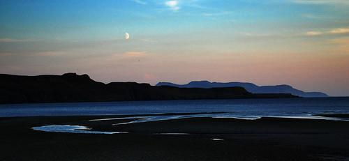La playa a los pies de los Cuillins. Bualintur. Skye (4). Por Escocia (13)