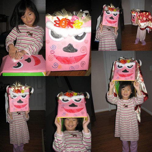Chinese New Year Dragon Dance craft