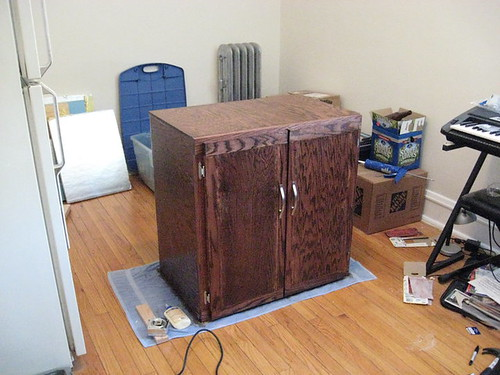 How to seal fermentation cabinet doors? - Home Brew Forums