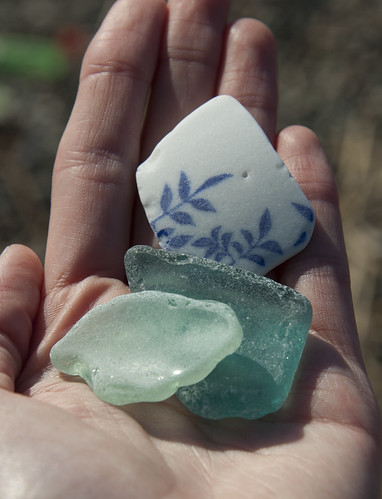Japanese Beach Glass