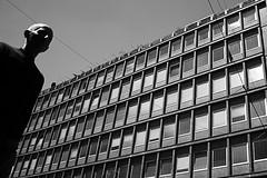 (Donato Buccella / sibemolle) Tags: blackandwhite bw italy milan milano streetphotography lowangle viatorino fromtheground carrobbio canon400d sibemolle fotografiastradale mg82032