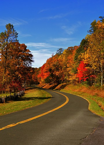 Blue Ridge Parkway - Photo by abi.bhattachan