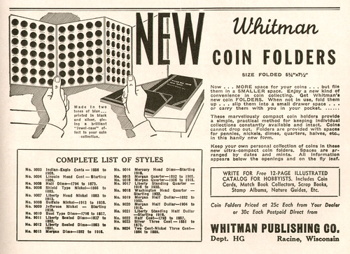 Whitman - Hobbies Magazine January 1942