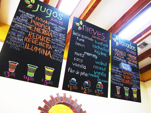 Oaxacan Food, Ice Cream and Raspado Tasting at Guelaguetza and Natura