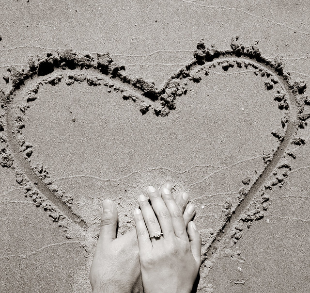 i love sand art
