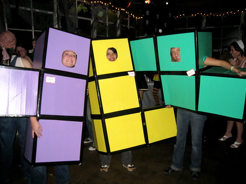 Tetris costume, LOVE IT!