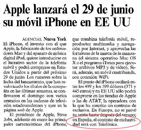 iPhone en Lockeblog