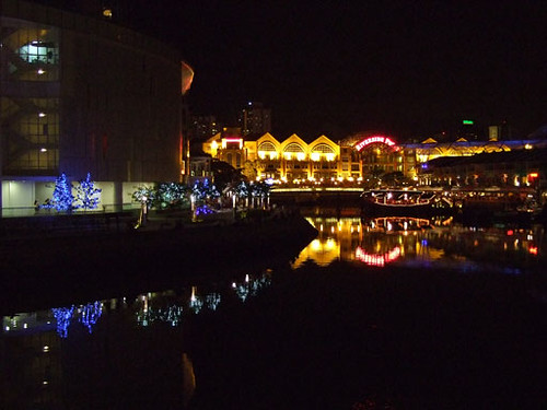 Clarke Quay reflections, Singapore