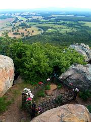 Petit Jean's grave...