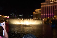 blurry fountains