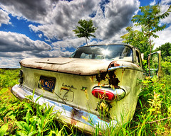 Where'd I park my Lark? (dfworks) Tags: junk studebaker hdr lark 3xp photomatix sigma1020 aplusphoto