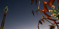 i dig motion (iammikeb) Tags: carnival arizona sky motion color night lights ride spin mikeb prescottvalley