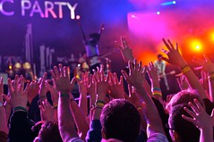 Hands up with Block Party