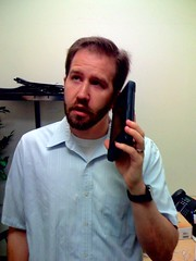 Talking on my new Newton iPhone