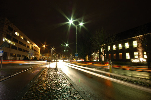 Breda By Night III / Slow shutter speed