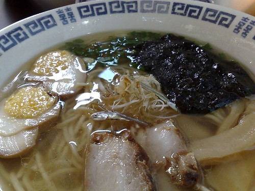 Salty Dried Sardine Ramen - Rich
