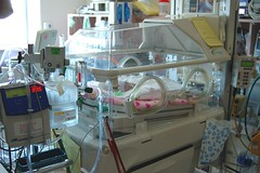 Monitoring a premature baby