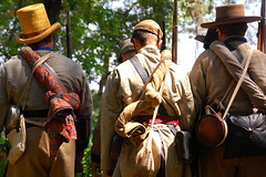 heading to battle (mateofiero) Tags: atlanta civilwar kirkwood eastatlanta reenactment encampment battleofatlanta batl thewarnorthernagression
