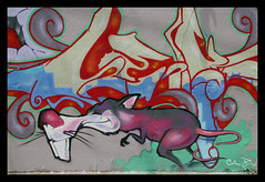 PC wall july 2007 side #1 detail (Señor Codo) Tags: wickerpark chicago eastvillage graffiti crew labrat leks codophoto chicagografittipc