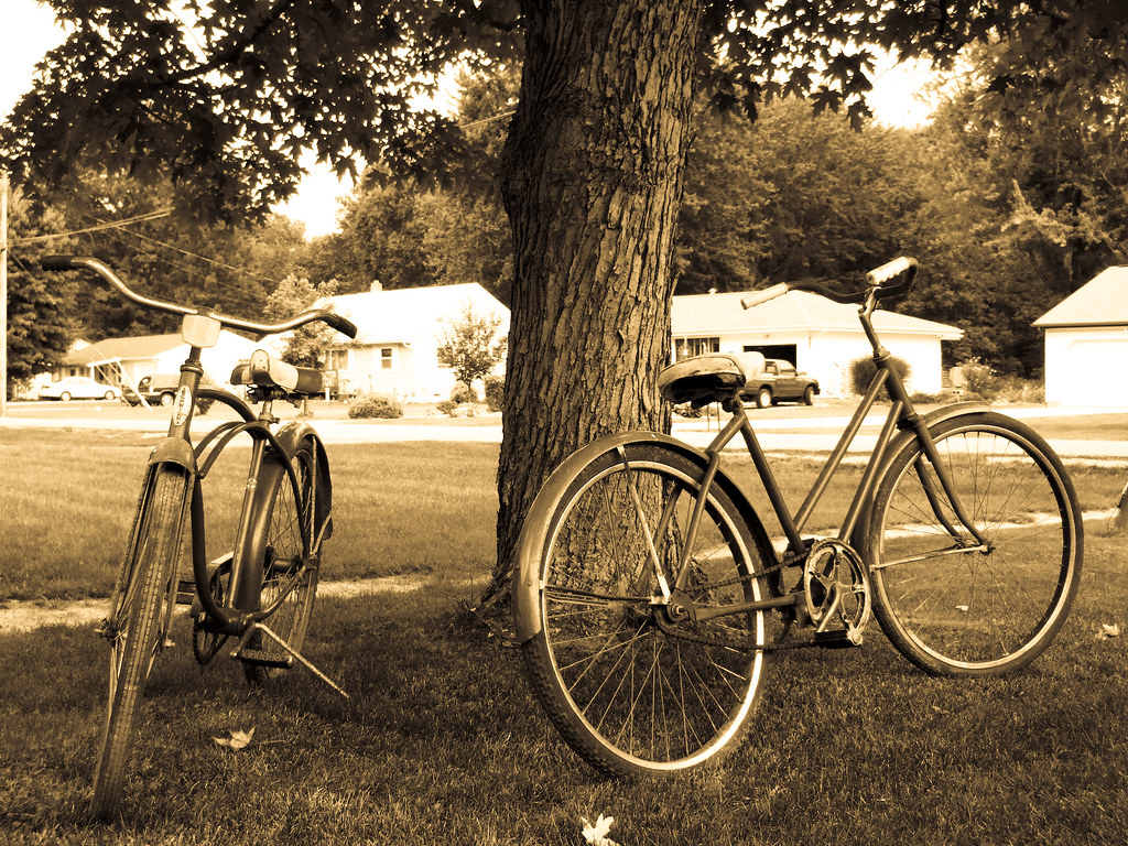 His & Hers Beater Bikes