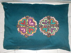 Ethiopian Embroidered Pillow