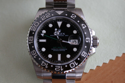 Green Arrow Rolex GMT 2