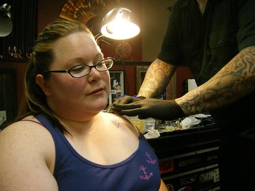 the Tattoo At Last Chance Tattoo