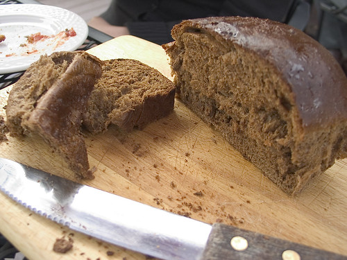 Molasses bread @ Opa-Opa