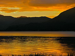 Sunset over Loch Leven (Nala Rewop) Tags: sunset scotland loch nessie lochleven blueribbonwinner aplusphoto colourartaward artlegacy excapture