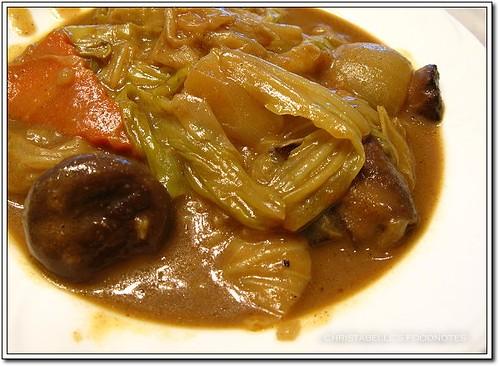 世貿聯誼社西餐廳素食蔬菜咖哩