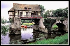 (14) Moulin / Vernon / France (unicorn 81) Tags: bridge house france color building history mill nature architecture river geotagged mhle frankreich colorful europe flus haus architektur normandie brcke vernon normandy gebude giverny watermill halftimbered lafrance fachwerk timbered colombages fachwerkhaus halftimber mapfrance wassermhle halftimberedhouse timberedhouse stonecottage views100 frpix architekturfrankreich unicorn81 allemeinefotosvon001500 moulindeau fotogaleriefrankreich fachwerkbauhalftimberedbuilding