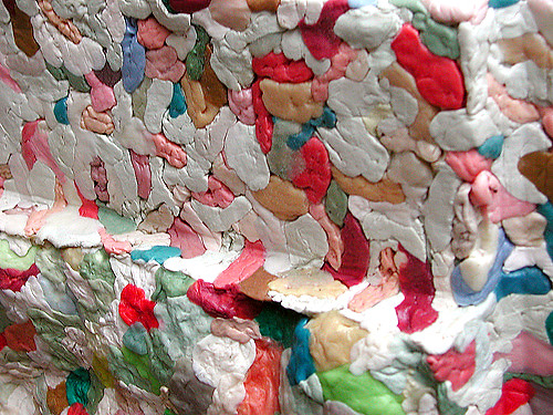 Chewing-gum (sculpture detail)