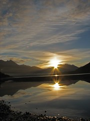 Knik 1 (BarbieW) Tags: morning mountain reflection nature sunshine alaska clouds sunrise scenery palmer matsu knik knikriver whatawonderfulworld wonderworld onlynature flickrsbest worldbest anawesomeshot freenature