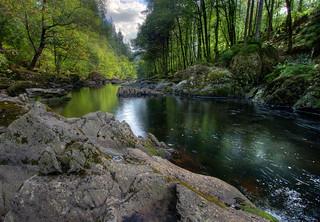Llugwy Downstream
