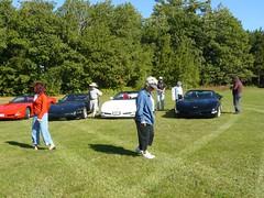 Vice President Run 2007 097 (redvette) Tags: corvette rivervalleyvettes redvette tomhiltz