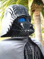 Lego Darth Vader (Accretion Disc) Tags: california starwars darth legos vader