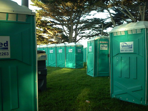 portapotties