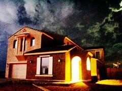 Arizona Monsoon Lightning Fill-flash (miqaelee) Tags: arizona clouds nightimages nightlights az monsoon lightning cloudjunkie goldcanyon thecloudappreciationsociety thewildwildwest thegreatsouthwest