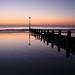 Tywyn beach groin millpond