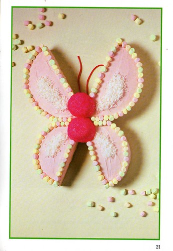 Not Butterfly but a Flutter By Cake