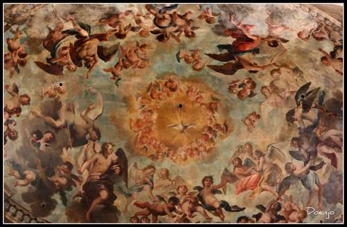 Fresco de Juan de Espinal
