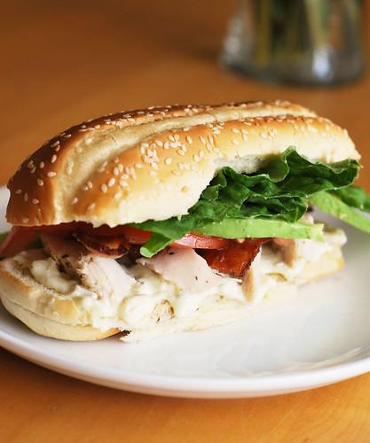Chicken Cobb Sandwich - Fake Ginger