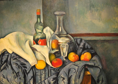 Paul Cezanne - The Peppermint Bottle at National Art Gallery Washington, DC by mbell1975.
