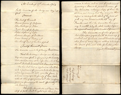 Bridge over the Tay, 1764 (P&KC Archive) Tags: scotland rivertay perth document archives taxation ecsochistory historicaldocument